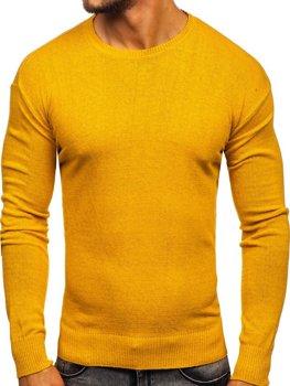 Чоловічий светр жовтий Bolf 0001