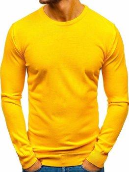 Чоловічий светр жовтий Bolf 2300