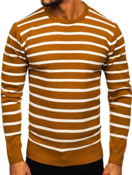 Чоловічий светр кемел Bolf H6052