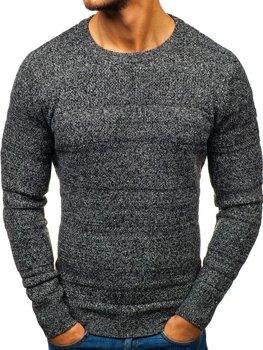 Чоловічий светр сірий Bolf H1805