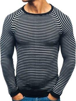 Чоловічий светр чорний Bolf 152