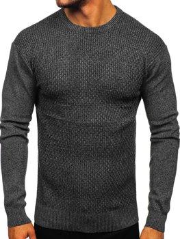 Чоловічий светр чорний Bolf 8512