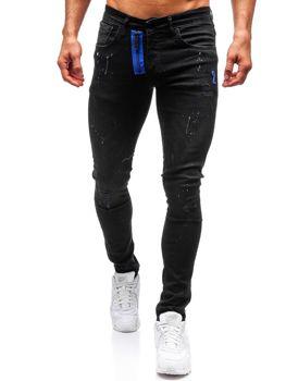 Чоловічі джинсові штани чорні Bolf 9244 667c2398876b3
