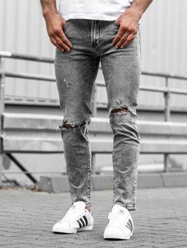 Чоловічі джинсові штани чорні Bolf KA897