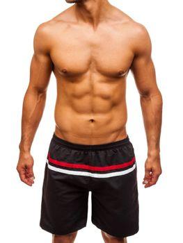 Чоловічі пляжні шорти чорні Bolf Y765