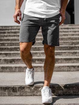 Чоловічі спортивні шорти графітові Bolf KK301