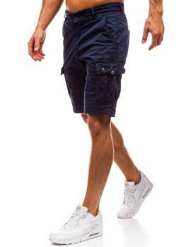 Чоловічі шорти карго темно-сині Bolf 82223