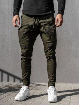 Чоловічі штани джоггери сині Bolf 0956