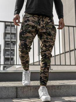 Чоловічі штани джоггери хакі Bolf 0956