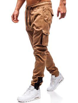 Чоловічі штани джогери карго Кемел Bolf 0705 a7e2e19b2f6fd