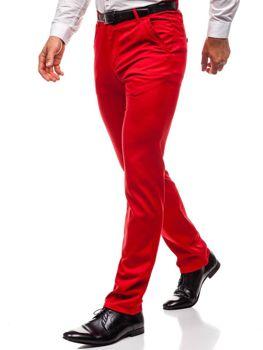 Чоловічі штани червоні Bolf 3186