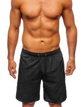 Чорні чоловічі пляжні шорти Bolf YW02067