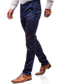 Штани чоловічі темно-сині Bolf 7623