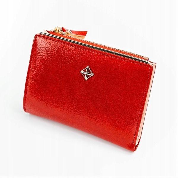 Жіночий гаманець з еко шкіри червоний 1031