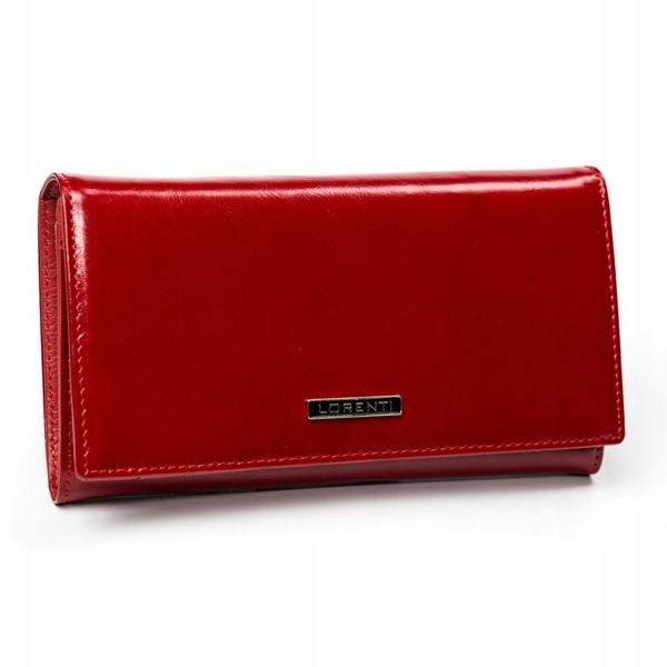 Жіночий шкіряний гаманець червоний 2899