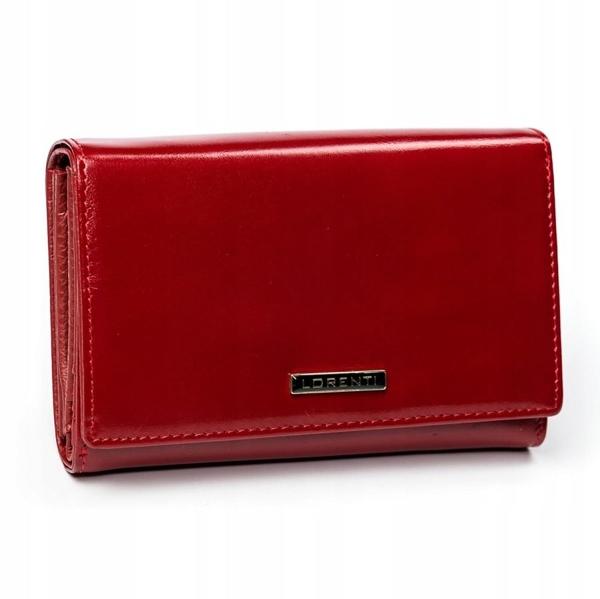 Жіночий шкіряний гаманець червоний 2905
