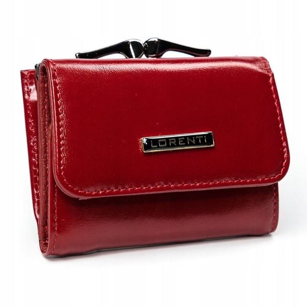 Жіночий шкіряний гаманець червоний 2908