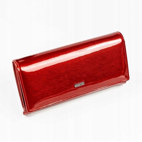 Жіночий шкіряний гаманець червоний 887