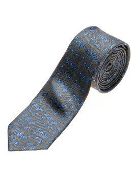 Чоловіча елегантна краватка графітовий Bolf K105