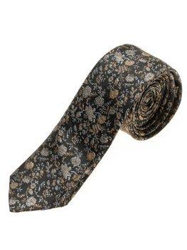 Чоловіча елегантна краватка чорна Bolf K100