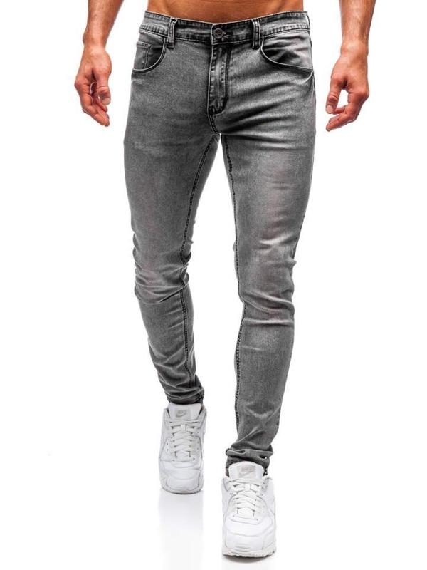 Чоловічі джинсові штани сірі Bolf 71831