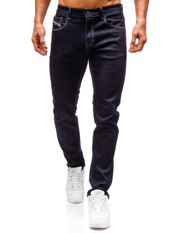 Чоловічі джинсові штани чорнильні Bolf 81832