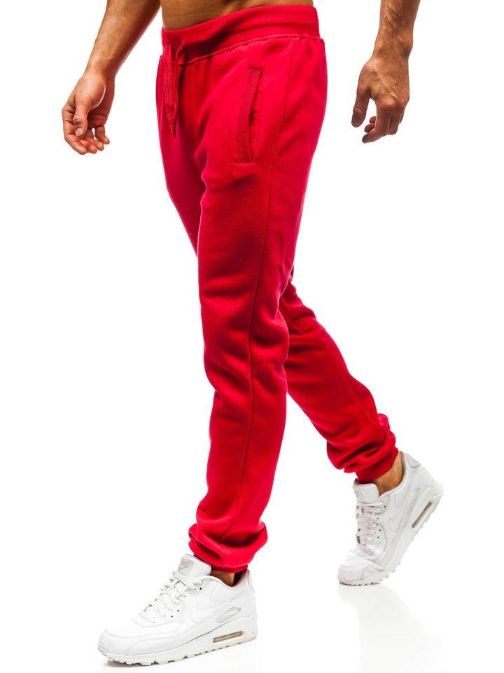 Чоловічі спортивні штани червоні Bolf AK70A ЧЕРВОНИЙ a06bdae03558d