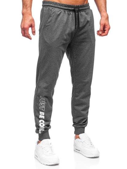 Графітні чоловічі спортивні штани Bolf 8624