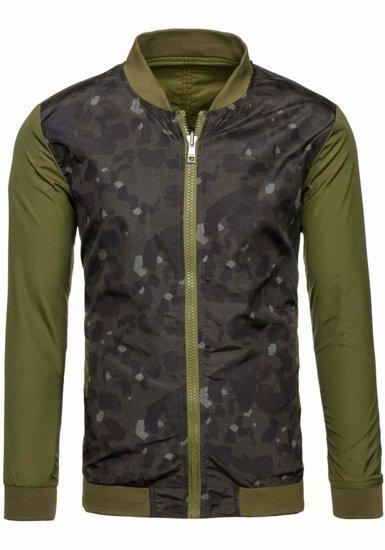 Куртка чоловіча GLO-STORY 7718 зелена
