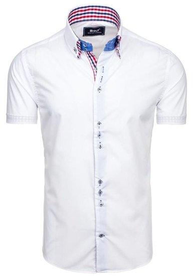 Сорочка чоловіча BOLF 3507 біла