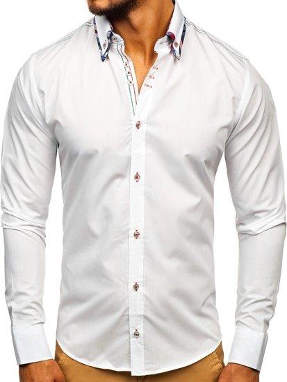 Сорочка чоловіча BOLF 3701 біла