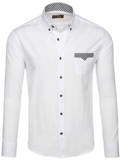 Сорочка чоловіча BOLF 4711 біла