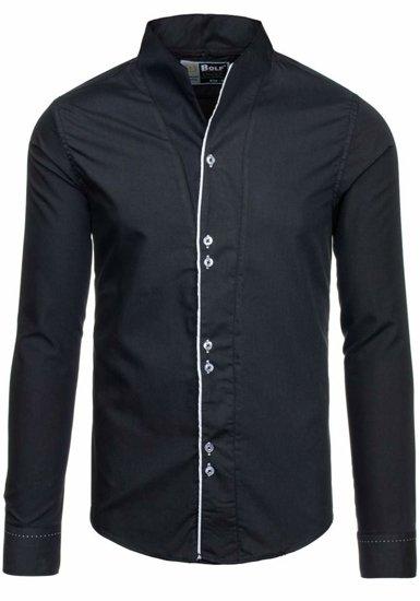 Сорочка чоловіча BOLF 5720-1 чорна