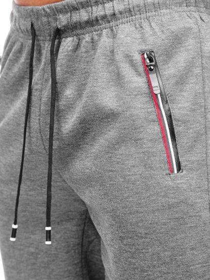 Сірі чоловічі спортивні шорти Bolf JX131