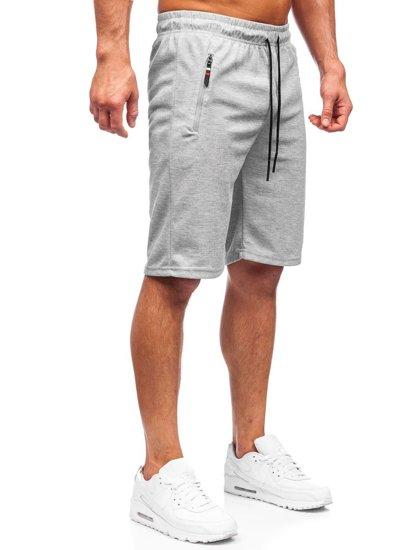 Сірі чоловічі спортивні шорти Bolf JX202