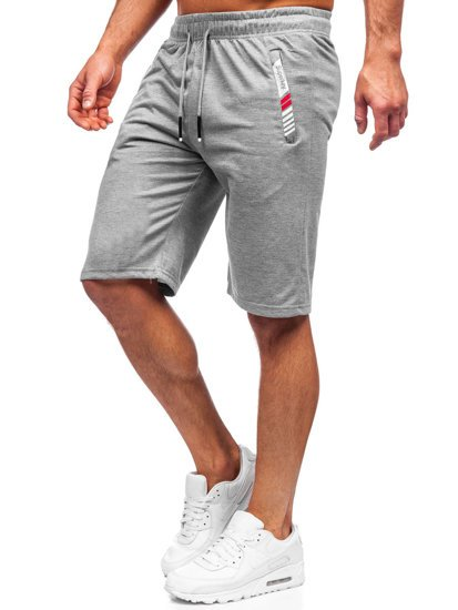 Сірі чоловічі спортивні шорти Bolf JX391