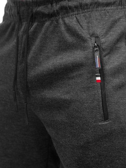 Чорні чоловічі спортивні шорти Bolf JX130