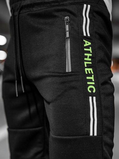 Чорні чоловічі спортивні шорти Bolf JX211