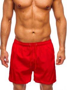 Бордові чоловічі пляжні шорти Bolf YW02002