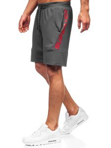 Графітові чоловічі спортивні шорти Bolf KS2596