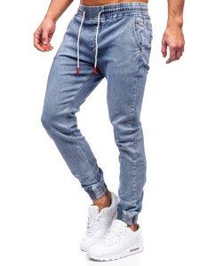 Сині чоловічі джинси джоггери Bolf KA1625