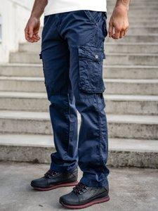 Темно-сині чоловічі штани карго з ременем Bolf CT8906