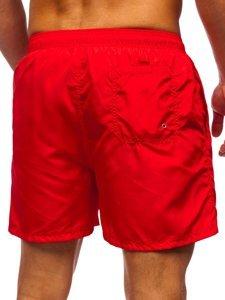 Червоні чоловічі пляжні шорти Bolf YW07002