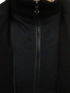 Чоловіче пальто чорне Bolf 8853A