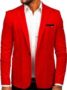 Чоловічий піджак casual червоний Bolf 1652