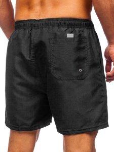 Чорні чоловічі пляжні шорти Bolf YW02001
