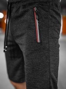 Чорні чоловічі спортивні шорти Bolf JX131